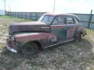 1949 chev Fleetmaster - project car