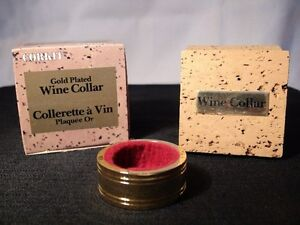 """Corkit """"Gold Plated Wine Collar"""""""