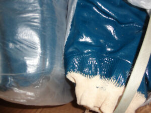 Work Gloves - Rubber and Fabric - Great for MANY jobs