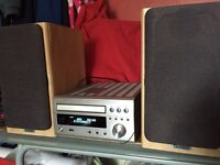 Denon Micro Hifi RCD M47DAB and Tannoy Mercury F1 Custom speakers
