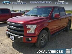 2015 Ford F-150 LARIAT 5.0L SUPERCREW  - one owner - local - tra