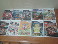 10 Wii Games - all excellent condition!
