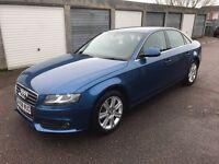 08 AUDI A4 2.0 TDI AUTO BLUE