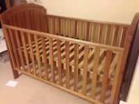 Westbury cot bed for sale. Used, but in excellent condition