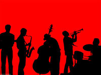 Jazz band for hire!