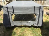 Vw early bay crew cab back canopy