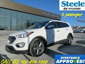 2014 HYUNDAI SANTA FE Limited 6 Pass Leather Sunroof Navigation