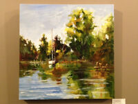 Landscape Painting in Oils or Acrylics - September 19