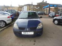 Renault Clio 1.5dCi 65 Expression 2004 - 04 REG ++ FULL 12 MONTHS MOT ++