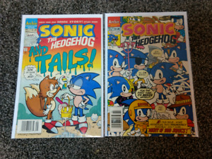 Sonic the Hedgehog #14 and 19. $5 you get both