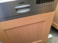 BOSH intergrated dishwasher