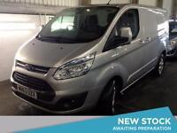 2013 FORD TRANSIT CUSTOM 2.2 TDCi 125ps Low Roof 270 L1 FWD Limited Van
