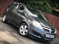 **6 MONTH WARRANTY** VAUXHALL ZAFIRA 1.9CDTI AUTOMATIC DIESEL, 7 SEATER