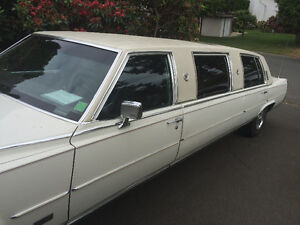 1989 Cadillac Other White Limousine