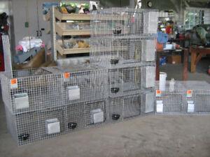 Beau choix de cages à lapins à vendre
