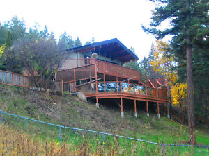 To trade Semi Waterfront Williams Lake home for home in Kamloops