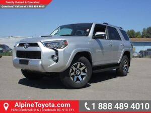 2017 Toyota 4Runner TRD Off Road  Sunroof - Nav - Toyota Smart K