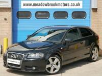 Audi A3 2.0TDI ( 170PS ) Tronic 2007MY S Line, !!AUTO+FULL LEATHER +170BHP!!