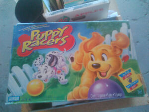 Puppy Racers - game for young children