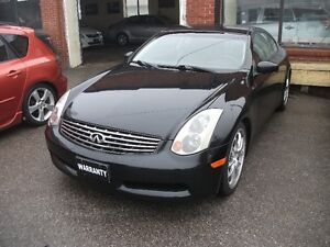 2005 Infiniti G35 6MT Coupe (2 door) CERTIFIED E-TESTED!!!!