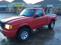 2001 Ford Ranger Edge only low low KM (rare)