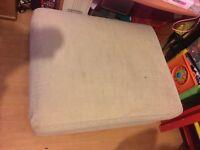 sofa footstool sold as seen