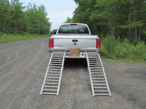 set of arched ATV Ramps