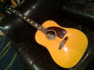 EPIPHONE TEXAN ACOUSTIC/ELECTRIC
