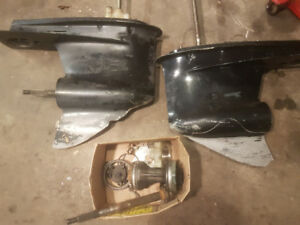 2 lower units for parts fit Yamaha motors 1998-2005 & 200-250hp