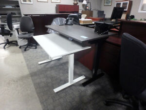 Height Adjustable Desk-Sit or Stand Used and New From $150.00