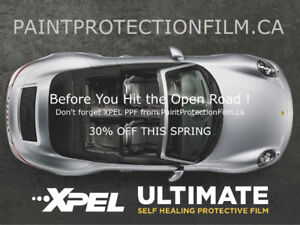 XPEL ULTIMATE PAINT PROTECTION FILM - ON SALE 30% OFF