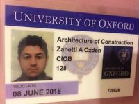 Architect Aslan ozden lassa construction & ltd