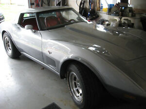 1978 Silver Anniverary Edition Corvette Coupe