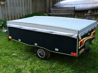 2002 ESY Tow Pop Up Tent Trailer for Motorcycles/Small Cars