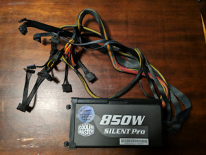 850 watt Cooler Master computer power supply