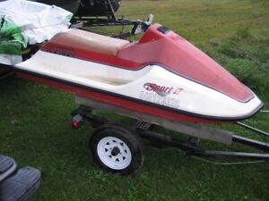 Wet Jet personal watercraft with Brut powerplant