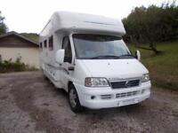 2004 Bessacarr E760 2800 Manual Diesel 4 Berth 2 Traveling Seats RHD Ref 11118
