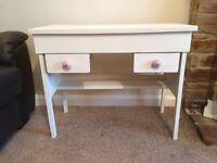 Shabby chic vintage children's desk or dressing table