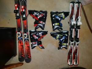 Twin ski set