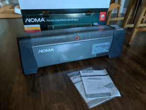 NOMA Space Heater/Digital Baseboard - $50