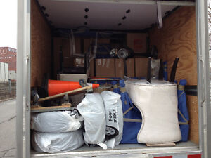 MOVING from 75$/h=2 movers+truck. 514 224 7907  Visa/MC. West Island Greater Montréal image 6