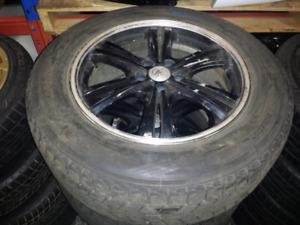 Jdm Rims Wheels Tires 18x7.5 5x114.3 225/65 R18