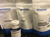 MYPROTEIN SUPPLEMENTS NEW UNOPENED AND SEALED