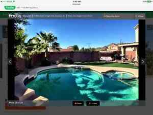 Large 4 bedroom home in Buckeye AZ with private pool