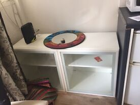 Glass cabinet only £20