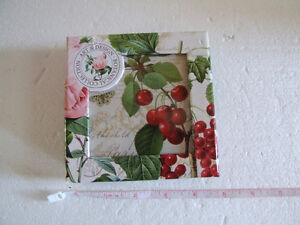 Brand new in box fruits theme cork backed set of 6 coasters London Ontario image 2