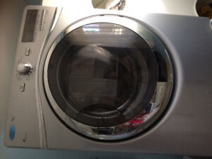 Laveuse secheuse whirlpool stainless duet 400$