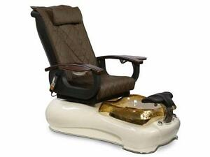 LA FLEUR 3 OR 4 PEDICURE CHAIR WITH SHIATSU MASSAGE