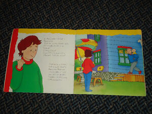 Caillou Goes Camping by Roger Harvey Paperback Kingston Kingston Area image 3