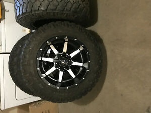 Brand new 20x12 fuel mavericks.
